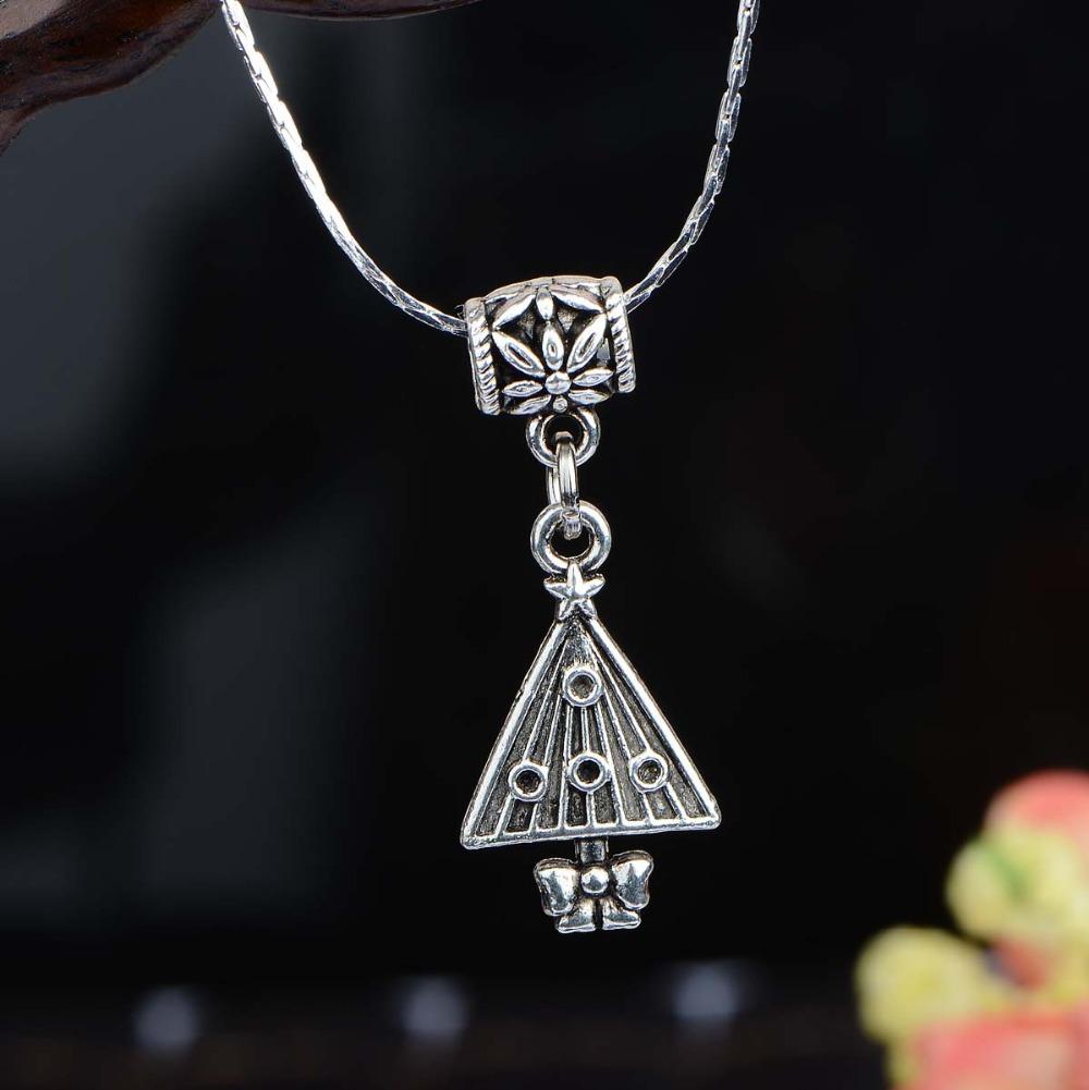 0058 Necklaces Pendants necklace women silver jewelry wild cute girls short paragraph clavicle chain necklace pendant