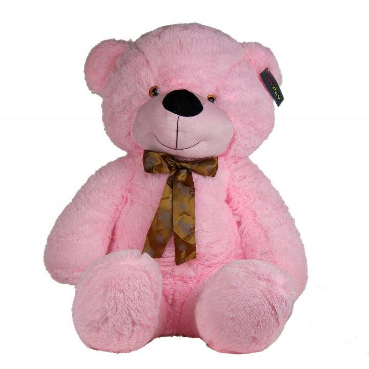"Joyfay 39"" 100cm Pink Giant Teddy Bear Huge Stuffed Plush Animal Big Soft Toy Best Gift for Birthday Valentine Aniversary(China (Mainland))"