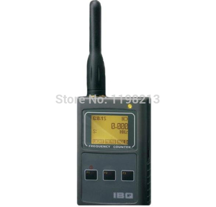IBQ101 handheld frequency meter 50MHz-2.6GHz for Two Way Radio Frequency Counter