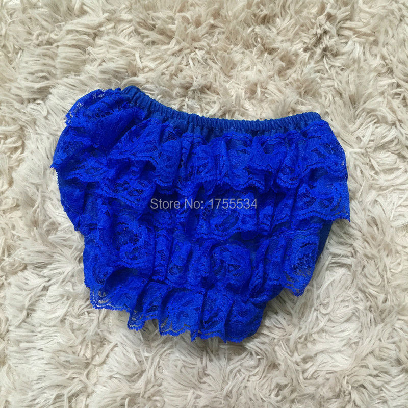 Solid Baby Shorts Girls Petti Lace Bloomers Newborn Diaper Cover Baby Ruffle Bloomer Infant Lace Shorts For 0-3Years 30PCS/Lot(China (Mainland))