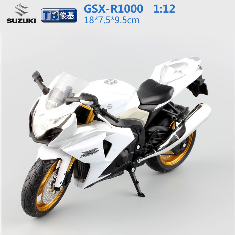 1:12 scale kids moto GSX-R1000 super motorcycle Alloy Die cast metal models toy motorbike race speed car gift toys for children(China (Mainland))