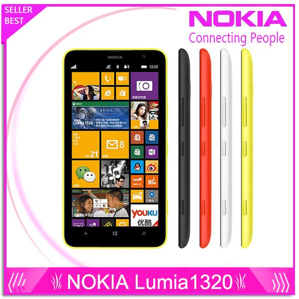 Nokia Lumia 1320 original brand top Lumia 1320 3G network with 5MP camera Windows Refurbishment mobile Phone with free gift(China (Mainland))