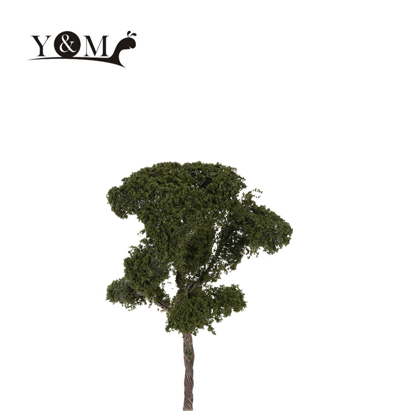 Kids Model Toys 3.54 Inch Tree Model Railroad Layout Architectural Landscape Model Scenery Diorama Miniatures 1:150 Scale(China (Mainland))