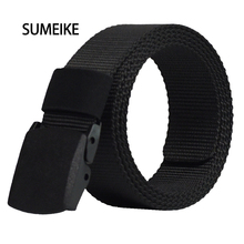 Buy Automatic Buckle Nylon Belt Male Army Tactical Belt Mens Military Waist Canvas Belts Cummerbunds High Strap for $5.81 in AliExpress store