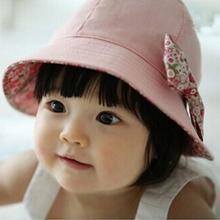 2016 New  Newborn Baby Girls Bonnet  Infant  Summer Sun  Bucket Hats