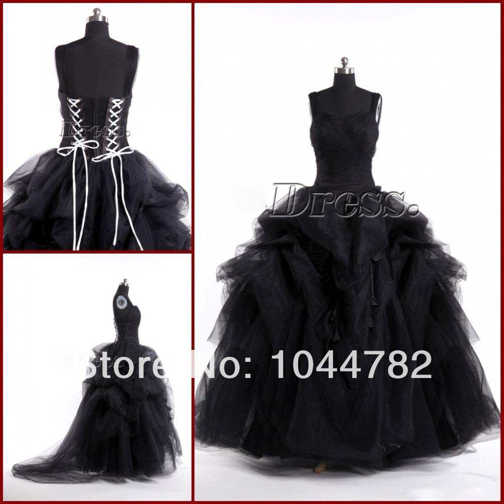 Gotiche abiti da sposa neri