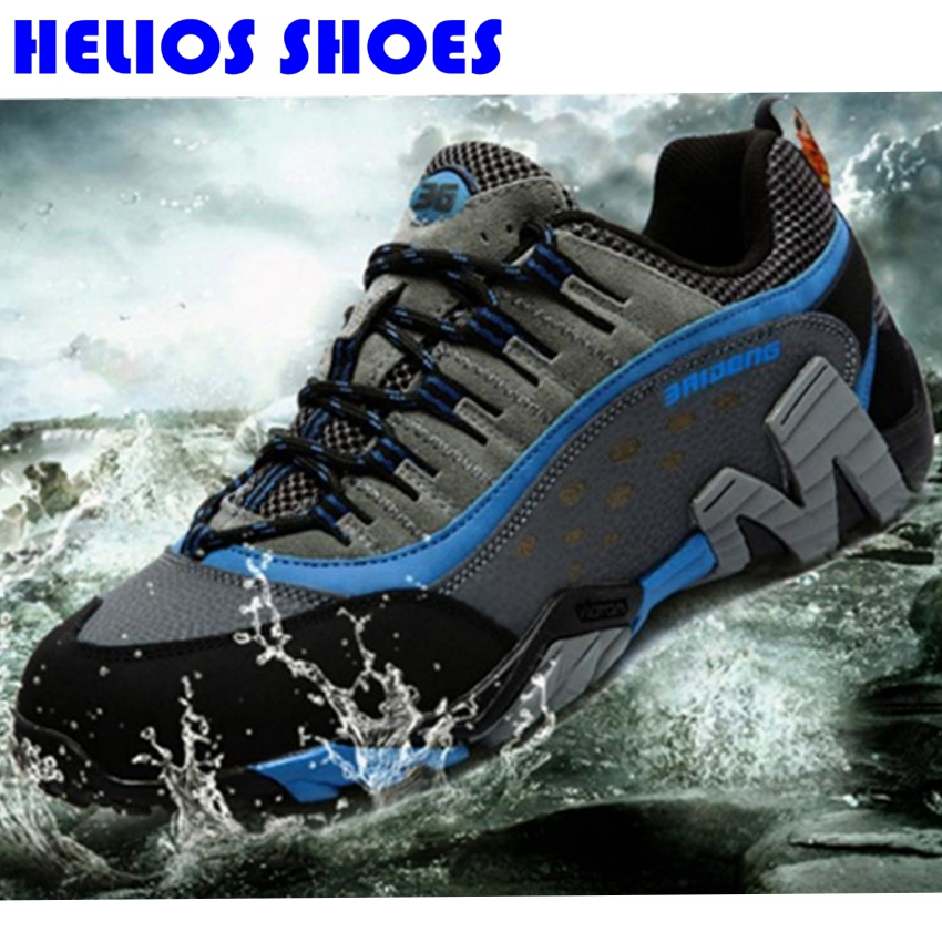 men outdoor casual shoes waterproof walking trekking breathable genuine leather casual climbing shoes men trainers shoes 378h(China (Mainland))
