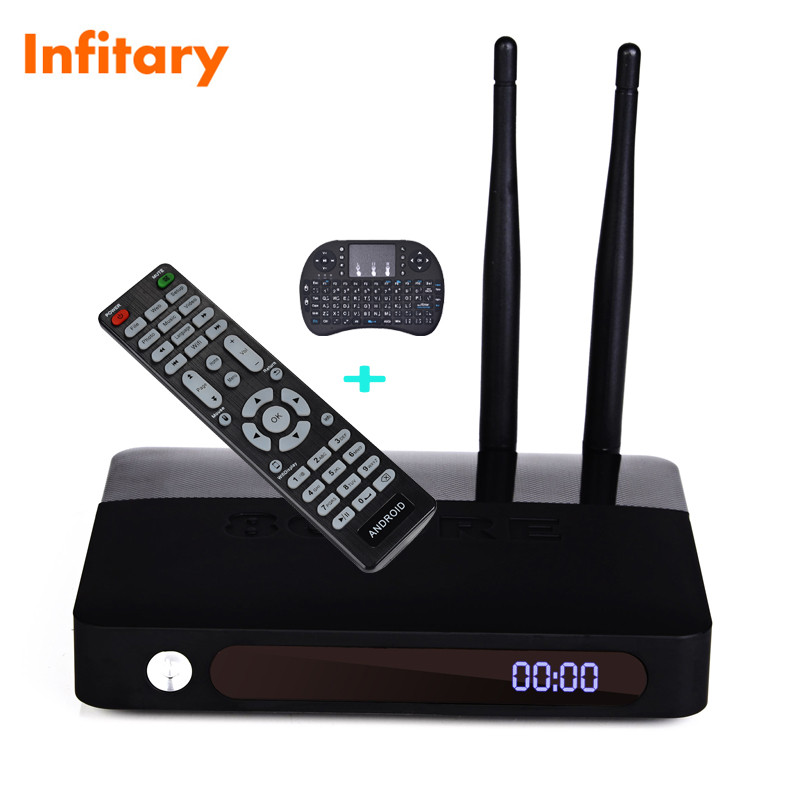 CSA91 Android 5.1 smart TV Box Set Top Box 2gb/16gb+i8 wrieless usb keyboard Chipset RK3368 WIFI Bluetooth 4.0 Built-in tv box(China (Mainland))