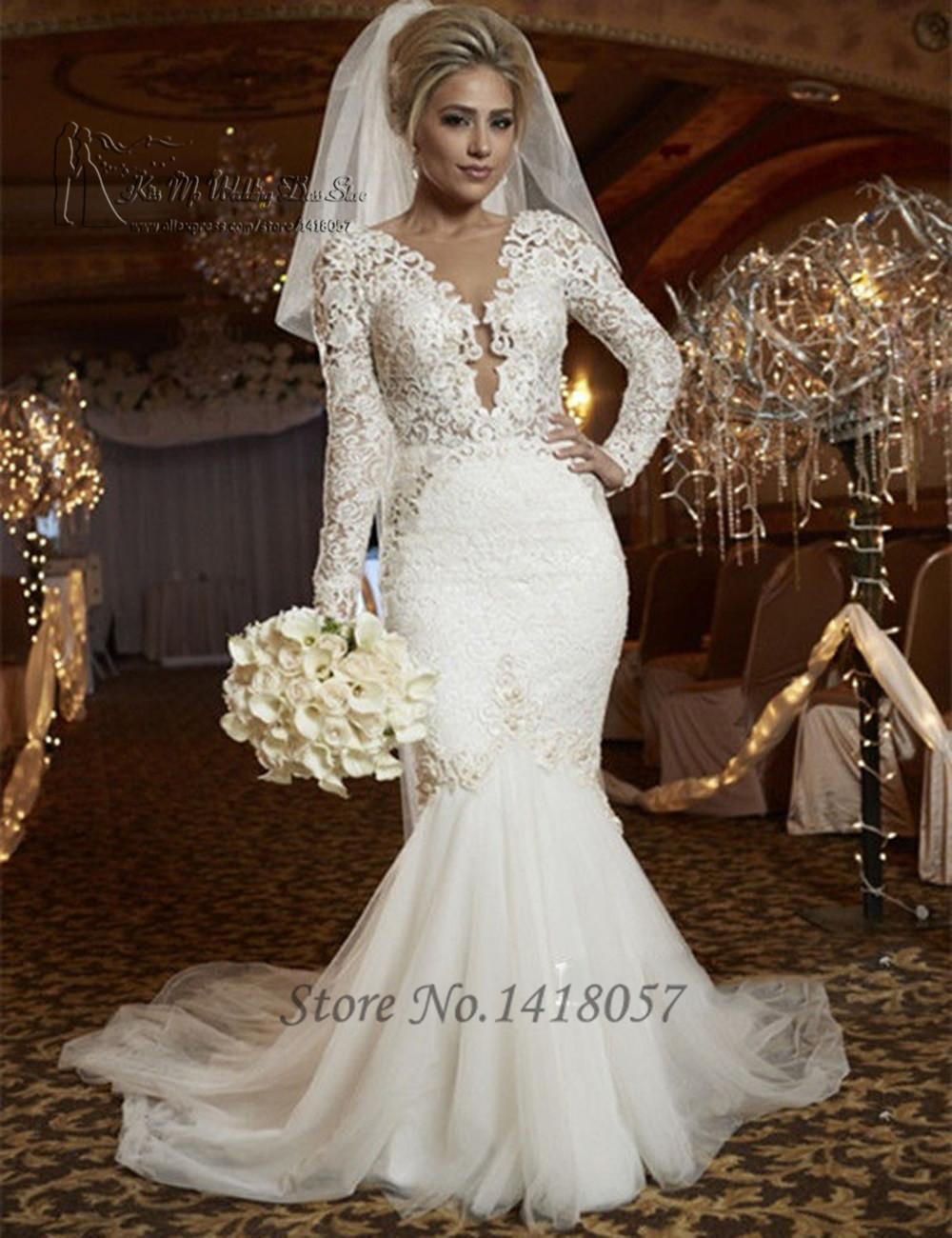 Wedding Long Sleeve Mermaid Wedding Dresses 17 best images about the dress on pinterest trumpet wedding gowns lace long sleeve mermaid ocodea