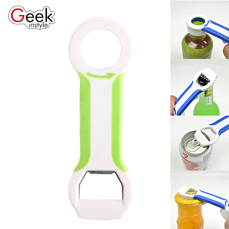 2017 Geekinstyle New fashion Multifunctional beer opener Kitchen bottle has a variety of functions you are worth using(China (Mainland))