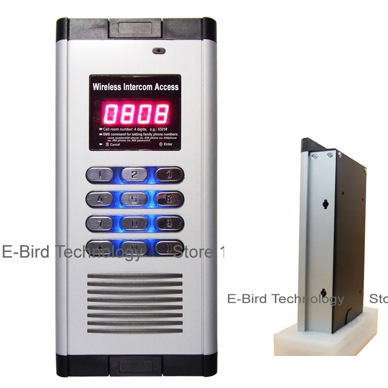 Easy install 2 relay wireless intercom access with free call open door function GSM<br><br>Aliexpress