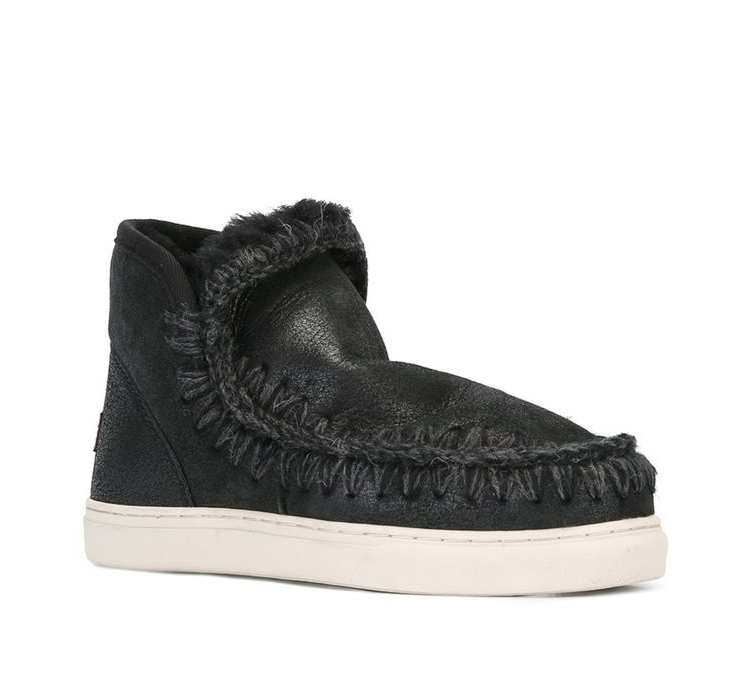 Classic Nature fur Wool real sheepskin leather snow boots for women winter shoes woman brand