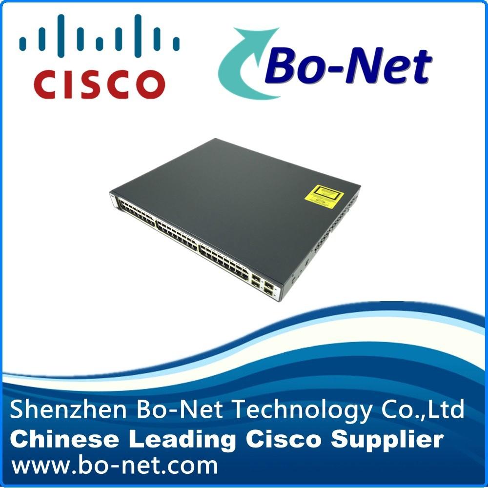 100% genuine CISCO switch WS-C3750-48PS-S(China (Mainland))