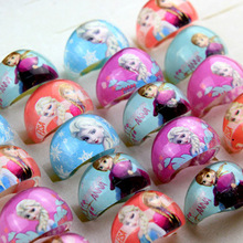 Buy 20/pcs 1pack New Snow Romance Children Cartoon Ring Princess Aisha Anna Jewelry Random Color, Can Choose Colors Styles for $1.49 in AliExpress store