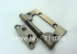 Free shipping 2pcs/set 4 inches,3.0MM thickness green copper SS steel Door Hinges(China (Mainland))