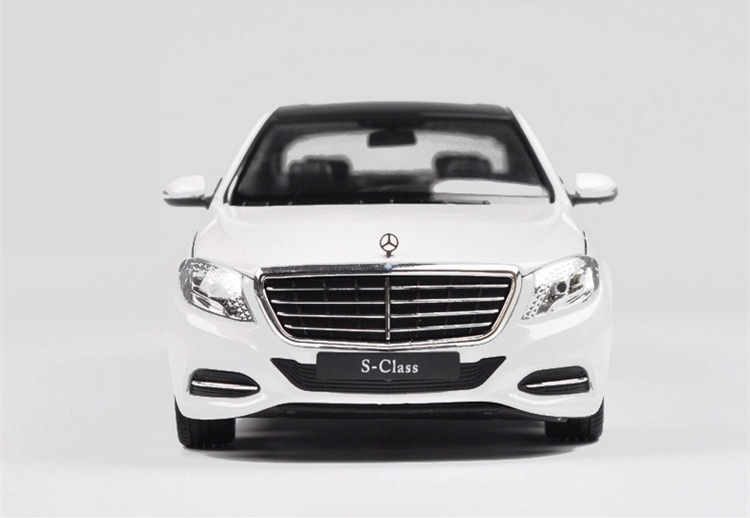 1pcs Mercedes Benz S-Class S600 Diecast Metal Alloy Car Classical Model Boys Gift Vehicle Collection Children 1:24 Scale Welly(China (Mainland))