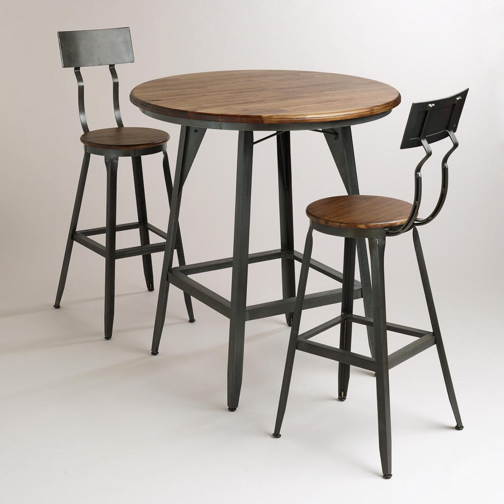 Loft Mining Retro Style Furniture Wrought Iron Tables And Chairs Do The Old Small Round