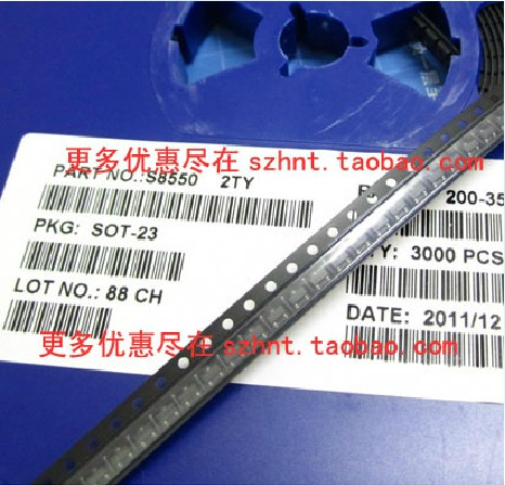 Smd транзистор s8550 2ty 0.5a