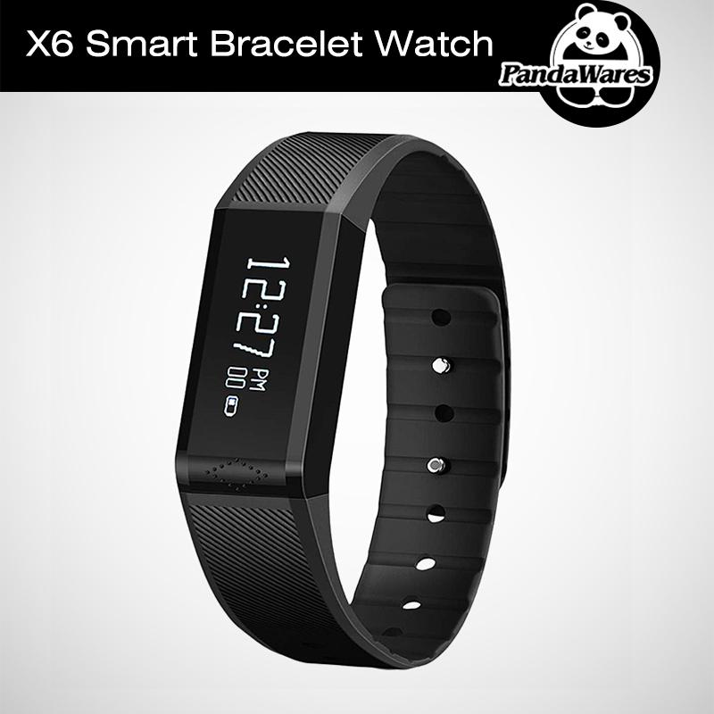 Genuine Vidonn X6 Bluetooth 4.0 IP65 Splashproof Smart Band Bracelet Wristband with Sleep Monitor Sports Tracking Caller ID<br><br>Aliexpress