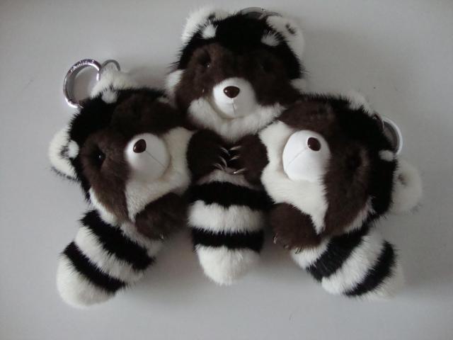 Imported mink fur bag pendant bag pendant car pendant jewelry small raccoon<br><br>Aliexpress