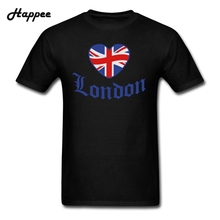 Buy Men T Shirt Love Old London Heart Youth Tshirt 100% Cotton Top Man Short Sleeve Big Size T-Shirt Male Tee Shirt Clothes for $13.44 in AliExpress store