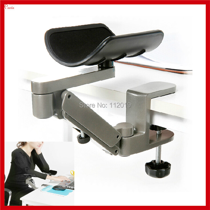 Telescoping Support Arm : New height adjustable foldable office computer ergonomic