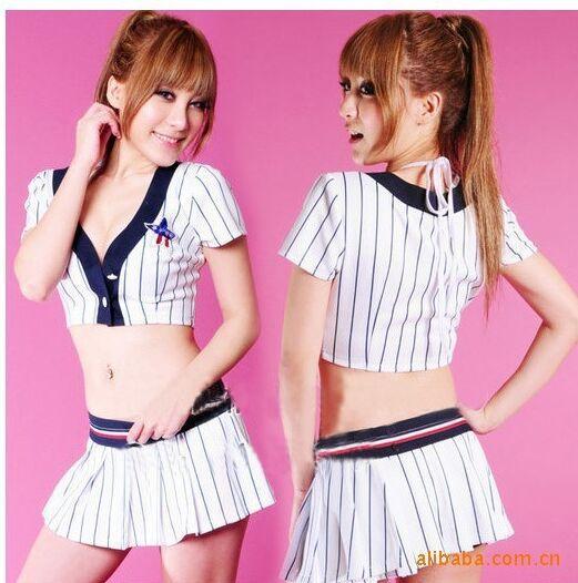 2015 new Cheerleaders show football baby overalls / suit / costumes / performance cheerleading gymnastics suit(China (Mainland))