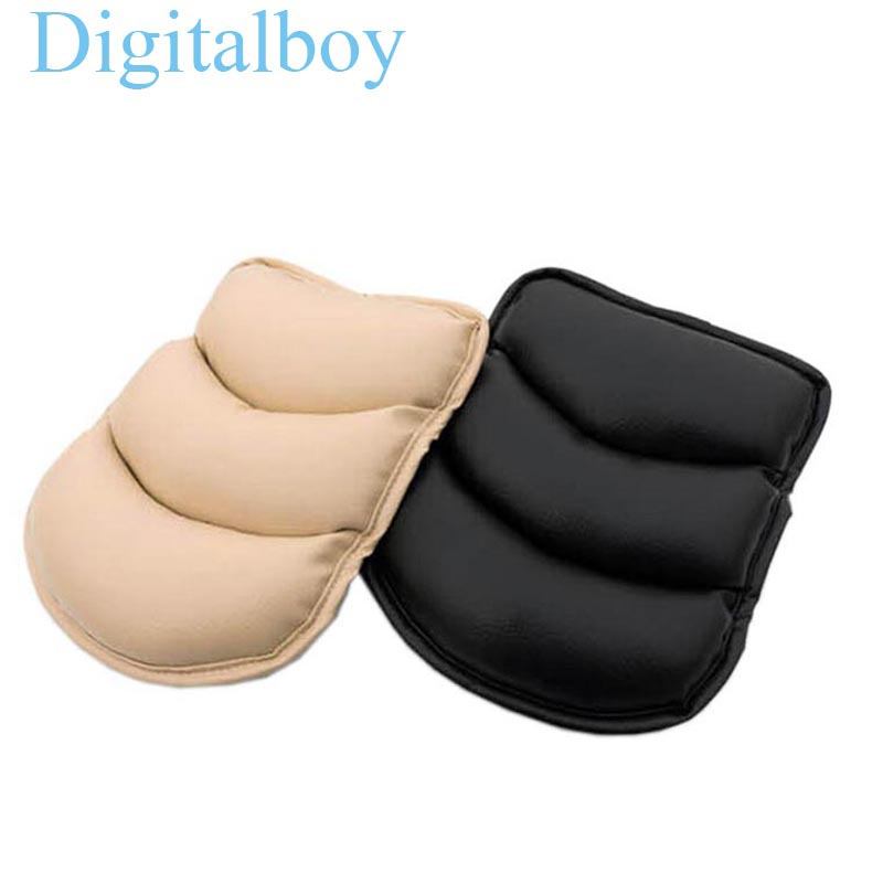 Universal Car Armrests Pads Cover Vehicle Auto Center Console Arm Rest Seat Box Padding Protective Case Soft PU Mats Cushion()