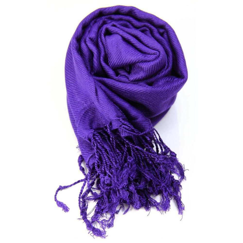 Top Quality Women Ladies Neck Scarf Plain Pashmina Shawl Hijab Wrap Top Quality 100% Viscose Scarves(China (Mainland))