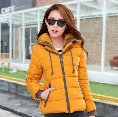 Nice New Winter Jacket Women Short Slim Thick Women's Down ...