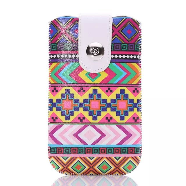 High Quality Fashion Hot Patterns Accessory For Archos 50 Neon Colored Drawing Portable Bag Pouch Cover Pull Leather Case(China (Mainland))