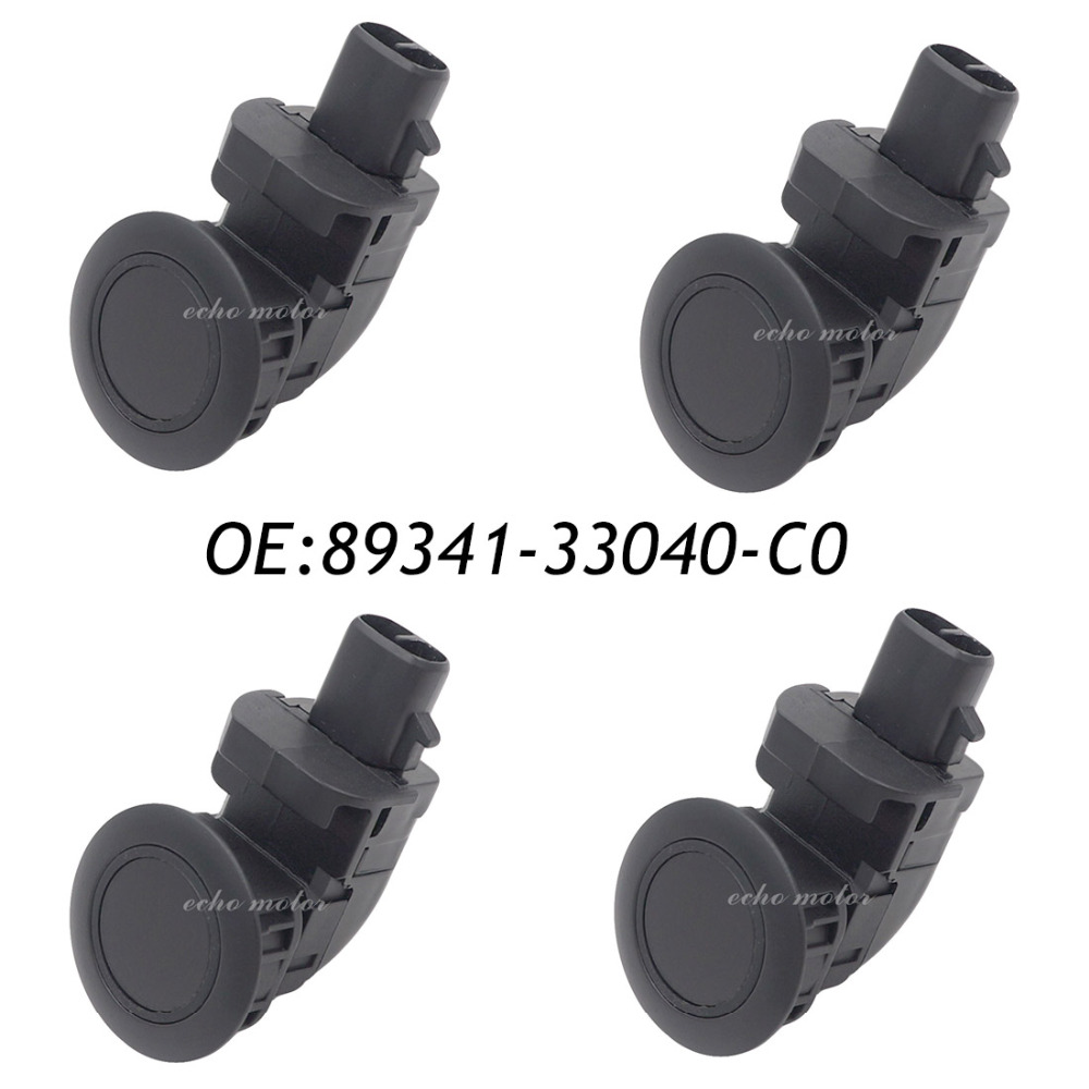 Фотография 4PCS Parking Distance Control PDC Sensor For Toyota Camry Corolla 89341-33040-C0 89341-33040 89341-12070 89341-33050 89341-33060