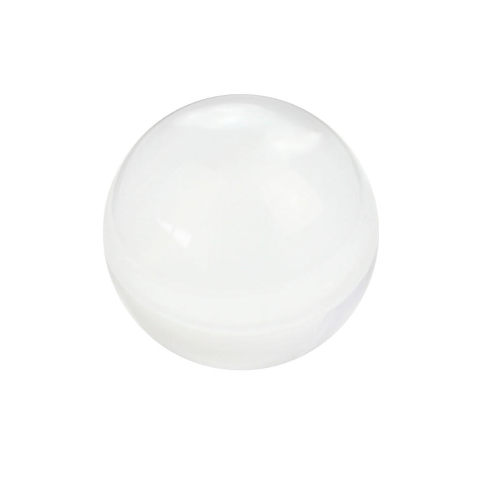 Popular glass spheres buy cheap glass spheres lots from for Table transparente