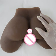 New 2KG full silicone sex doll realistic silicone vagina real pussy big ass silicone male masturbator for man fake ass sex toy