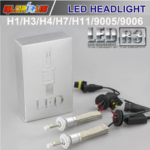 Car lamp 80w/Pair CR Chip H4 H7 H1 H3 9005 HB3 9006 HB4 H11 H9 LED Headlight Bulb 8000lm 12V 6000k Auto Front Head Lamp - 5 stars car Styling lights Store store