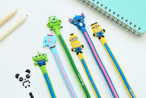 Kawaii 8Models Animal Minion Etc. 25CM LONG Cable Wire Winder LONG SIZE Earphone Cable Wire Bobbin Winder Headphone Wire Winder(China (Mainland))