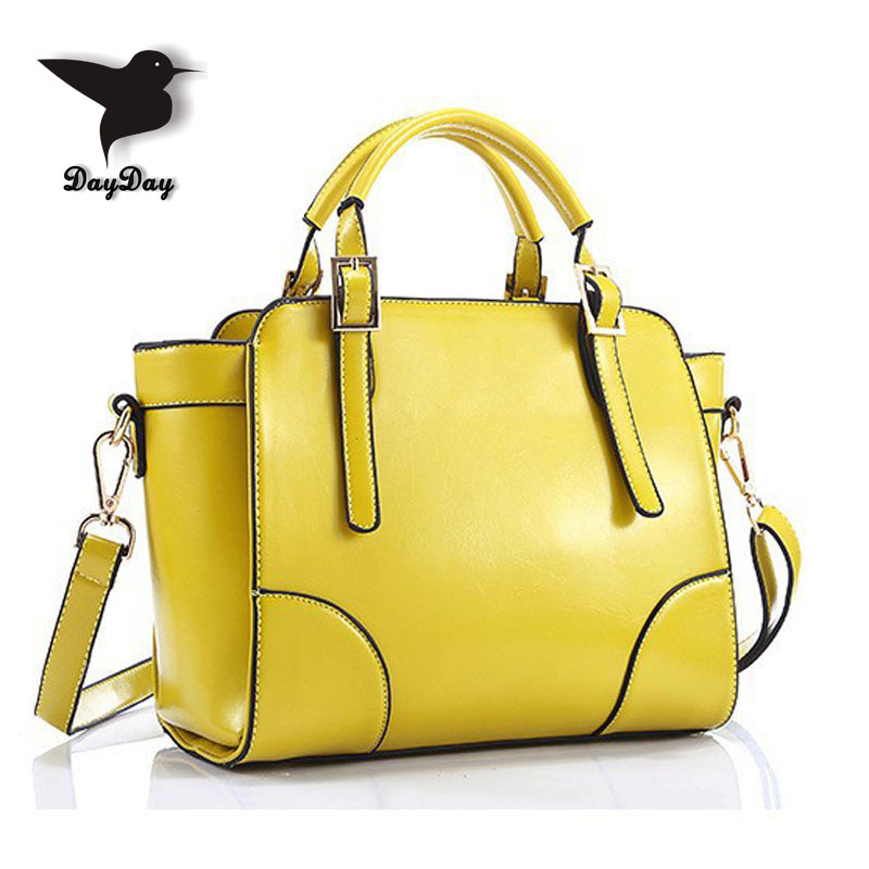 New Fashion  Women Handbag Genuine Leather Shoulder Bags Vintage Women Messenger Bags Bolsas Femininas Crossbody Tote