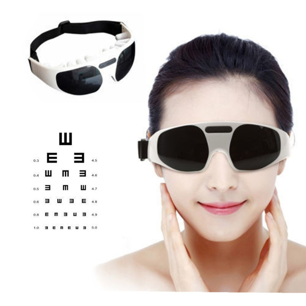 Migraine Electric Forehead Glasses Eye Care Relax Massager Eye Fatigue Stress Tension Relief(China (Mainland))