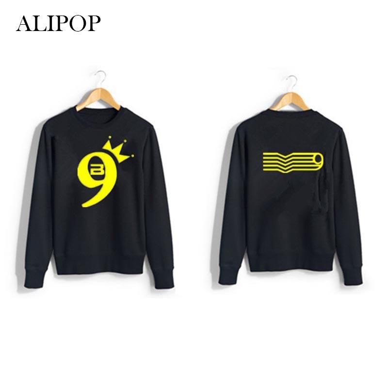 ALIPOP KPOP BIGBANG MADE 9 Concert GD Album Hoodie K-POP Casual Hoodies Clothes Pullover Printed Long Sleeve Sweatshirts WY317