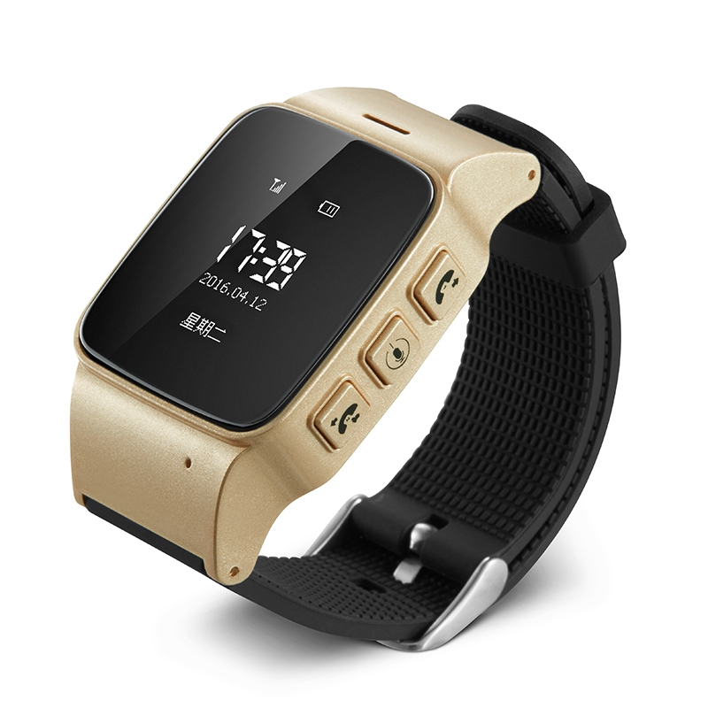 New D99 Elderly Smart Watch For Xiaomi iPhone Anti-lost Gps+Lbs+Wifi Tracking With WIFI Mini Watch for Old Men Women iOS Android(China (Mainland))