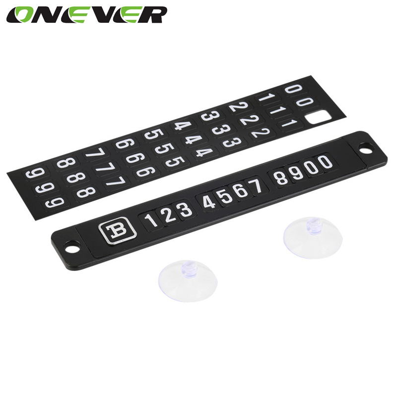 Magnetic Puzzle Car Parking Plate shift Auto Message Telephone Number Phone Code Sign Contact Notice Toughie Gummed Label Spine(China (Mainland))