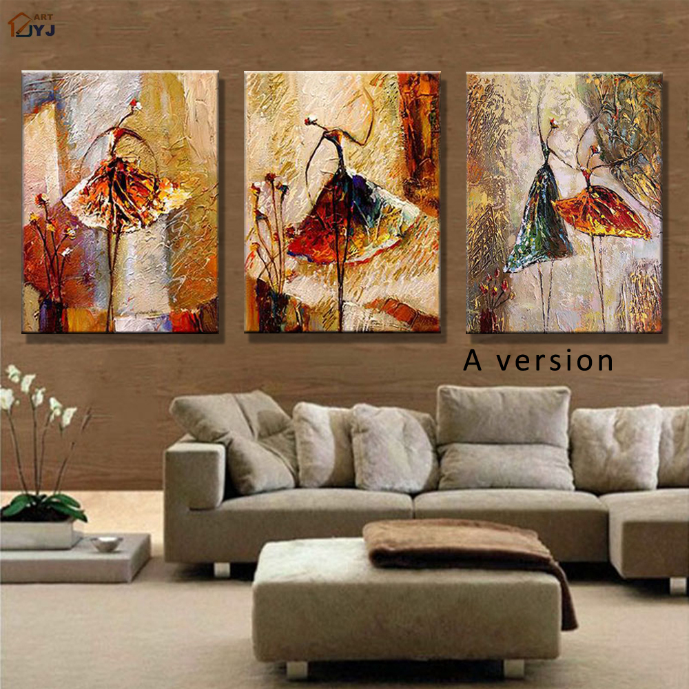Buy canvas art wall picture living room hand painted for Best wall art for living room