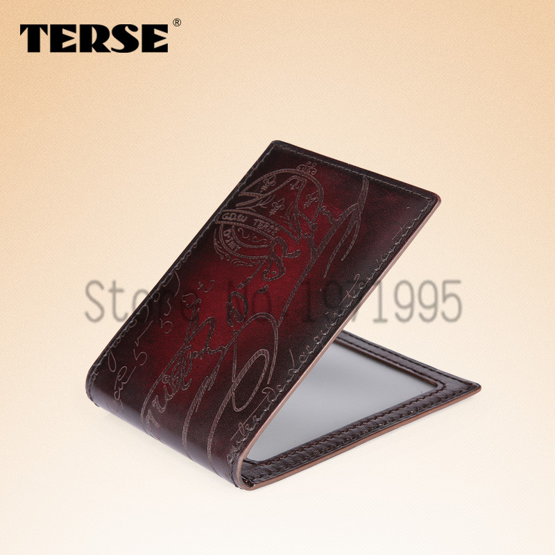 TERSE Men Leather Card Wallet Leather Driver's License With a Thin Card Package Documents Package Driver's License OEM Service(China (Mainland))