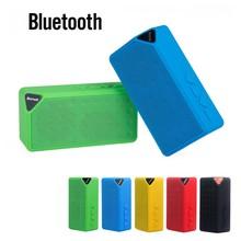 Envío gratis X3 Wireless Mini Bluetooth TF USB FM Altavoz Portátil Altavoz Subwoofer Altavoces de Sonido Caja de Música para el Teléfono Móvil