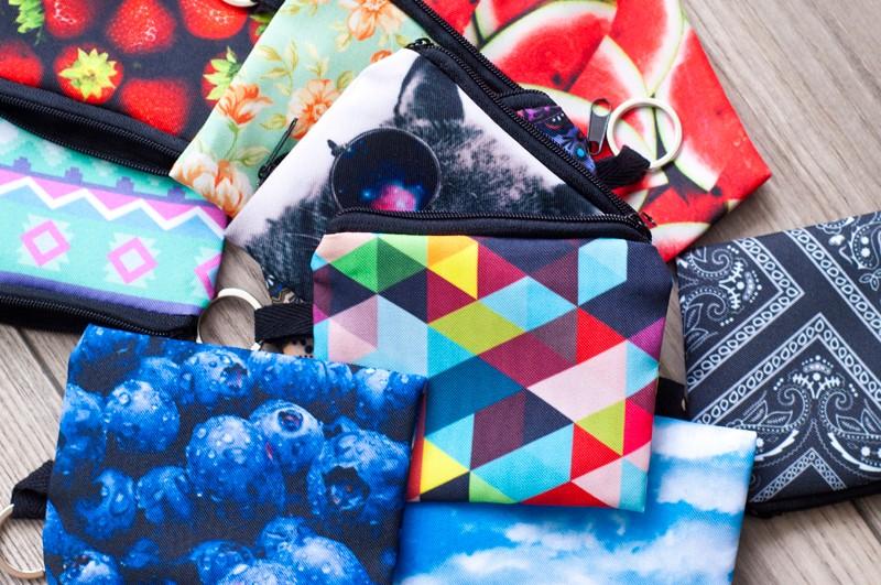 Новый 3D печать мопс DogМини кошелек мешок мужчин и женщин женщин дизайнерские сумки клатч XC