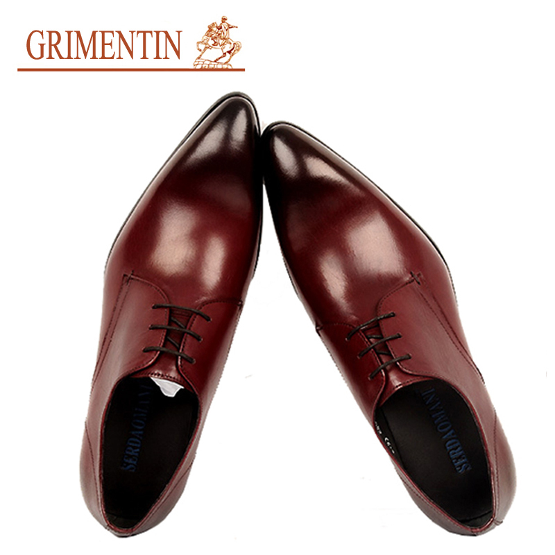 2015 brand mens leather shoes spring autumn pointed toe handmade genuine leather designer office formal flats size6.5-11 ox134(China (Mainland))
