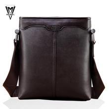 Мужчины сумки полиуретан кожа мужчины сумка-мессенджер человек бренд бизнес мешок плечо сумки, Портфели, Сумки