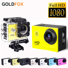 GOLDFOX SJ4000 FULL HD Waterproof Sports DV 1080P Action Camera Helmet Bike Car CAM Camcorders