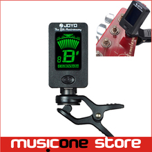JOYO  Guitar Bass Tuner JT-01 Mini LCD Clip-on 360 Degree Rotatable guitar Tuners machines for Guitar Bass Violin Ukulele(China (Mainland))