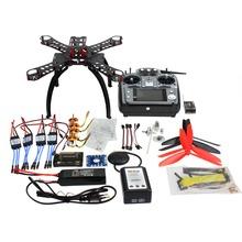 F14891-D 310 mm Carbon Fiber Frame DIY GPS Drone FPV Helicopter Kit Radiolink AT10 2.4G Transmitter APM2.8 1400KV Motor 30A ESC(China (Mainland))